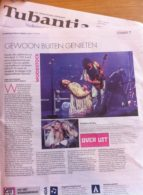 press review woodstock the story tubantia (NL)